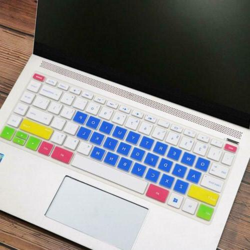 Silicone Keyboard Cover Skin for laptop 14 inch HP Pavilion