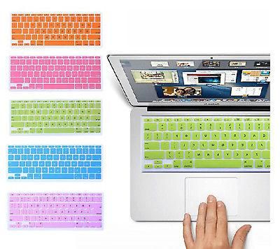 silicone keyboard cover skin for apple macbook
