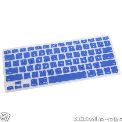 """Silicone Cover MAC 15"""" Blue"""