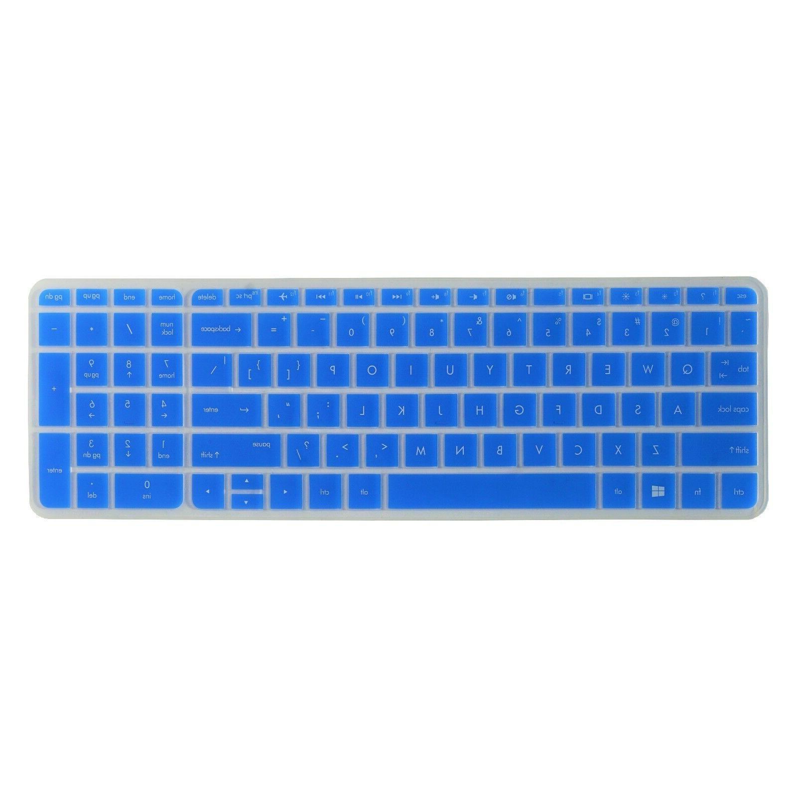 silicone keyboard cover skin protector for 15