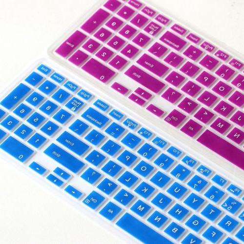 Silicone Keyboard Protector For 15 5000 Laptop