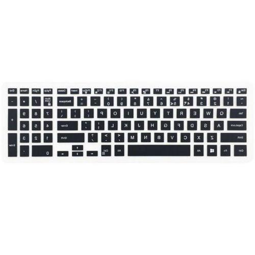Silicone Keyboard Cover Protector For Dell 15 Series
