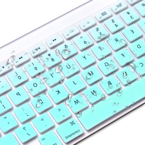Masino Keyboard Cover Ultra Thin Protective Skin for Apple