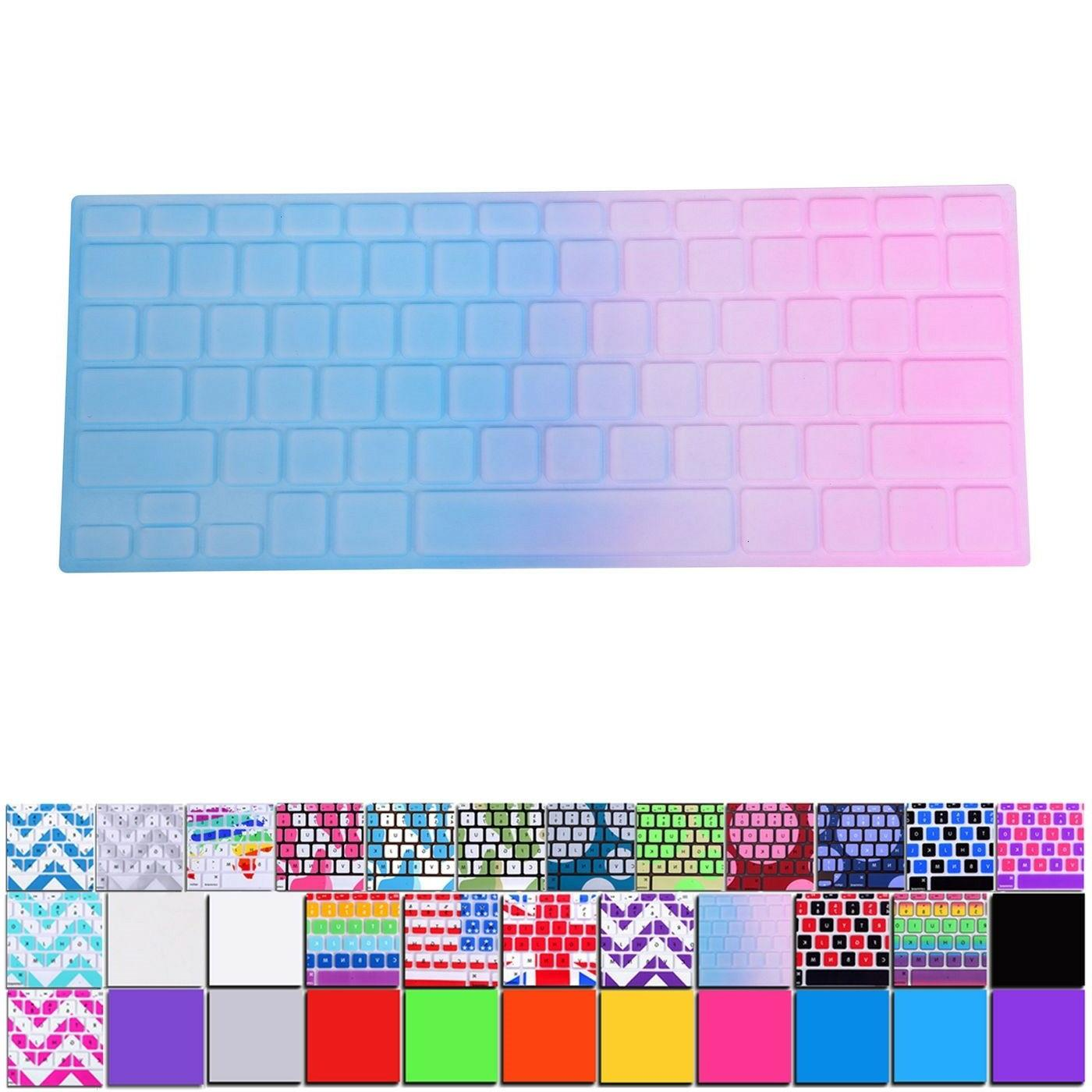 silicone keyboard skin cover film for apple