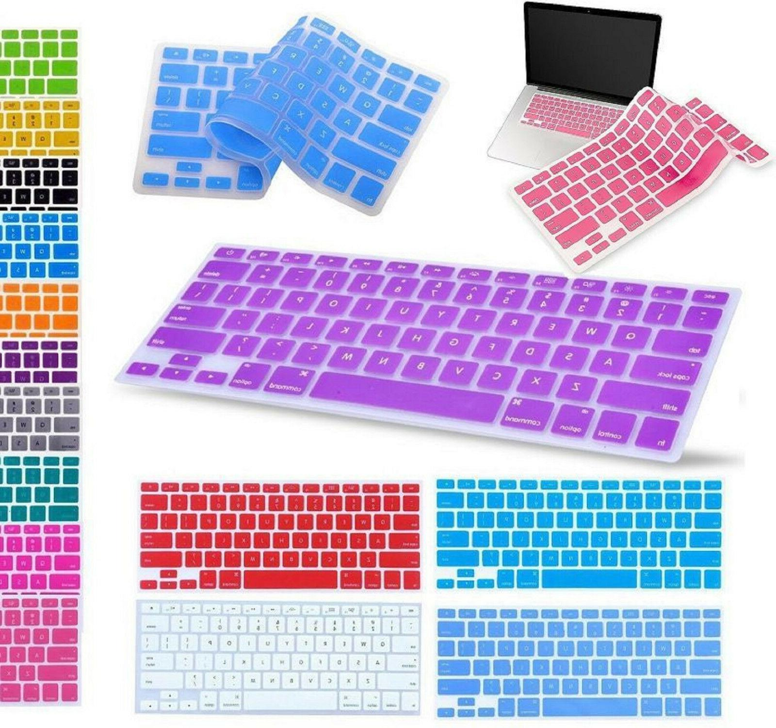 Anti Water Silicone Keyboard Cover Skin for MacBook Air Pro