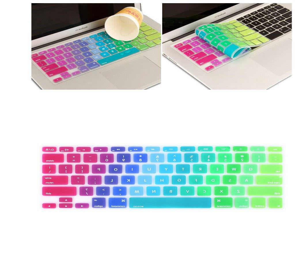 silicone keyboard skin cover for macbook air