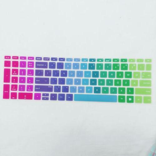 Silicone Laptop Protector 15.6 inch BF Rainbow