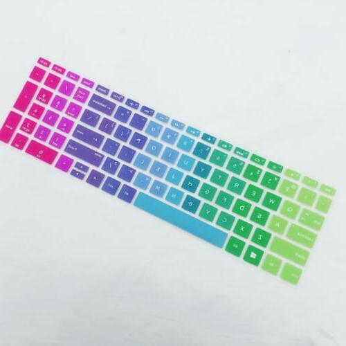 Silicone Keyboard Protector Cover For 15.6 BF Rainbow