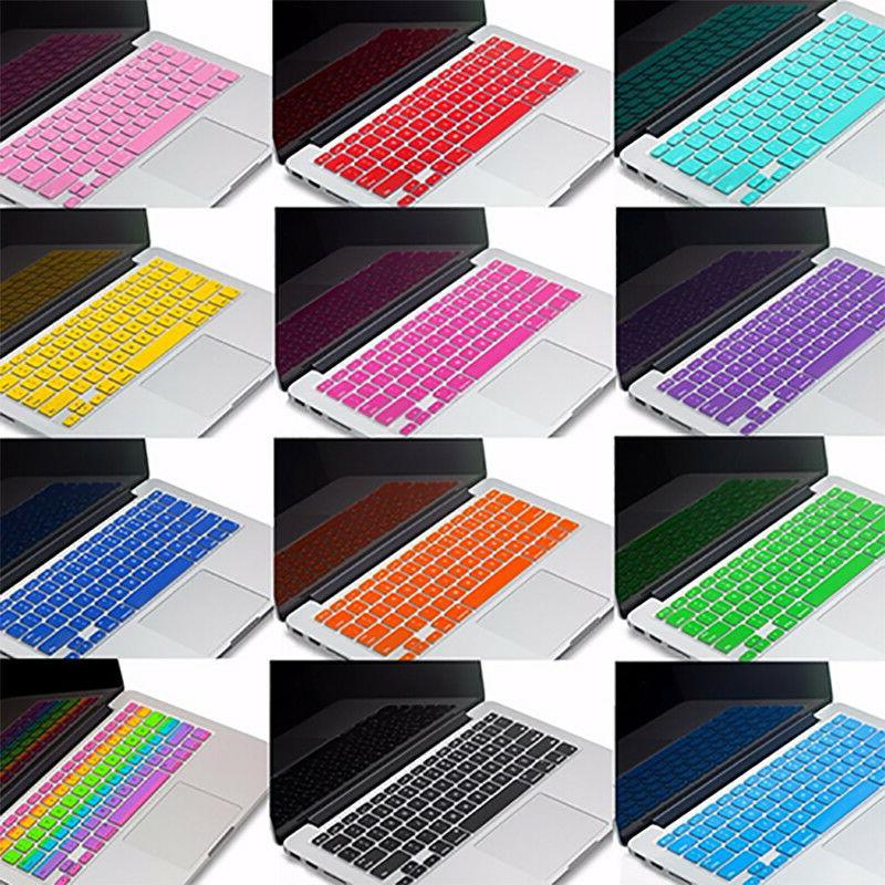 PASBUY Silicone Cover Apple MacBook Pro Retina Air 13 15 17""