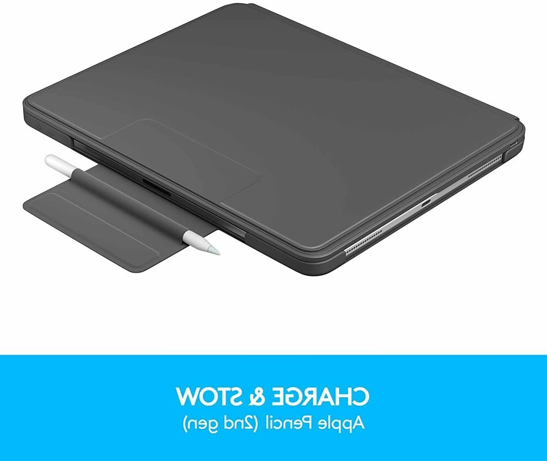 "Logitech Folio Backlit Keyboard Cover for iPad 12.9"""