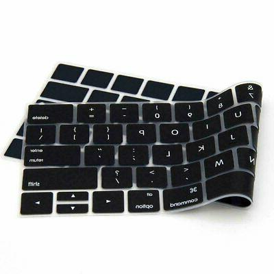 "Silicone Keyboard Cover Skin for MacBook Air Pro 13"" 15"" 16"""