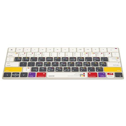 MOSISO Soft Thin Keyboard Cover Compatible Gen US Layout, OS X