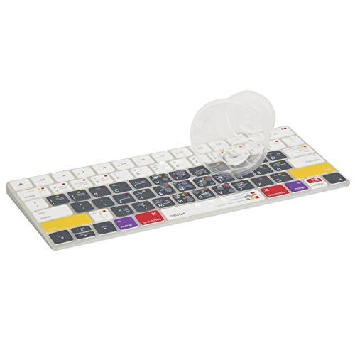 MOSISO Protective Ultra Thin Keyboard Skin Compatible Wireless Gen Magic with US Layout, Mac X