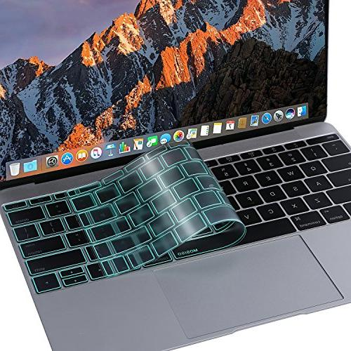 MOSISO Premium TPU Ultra Cover Pro 13 & 2016 Release A1708 No & New MacBook 12 Green