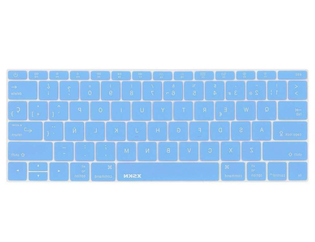 spanish language keyboard cover silicone skin