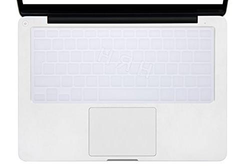 "HRH Spanish Language Keyboard Skin for MacBook Air Pro Retina Display 13""15"" Apple Wireless MC184LL/B European/ISO Layout-Clear"