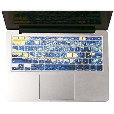 starry night gogh macbook keyboard