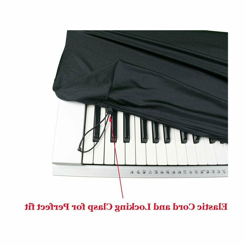 Stretchable Keyboard Dust for 88 Key-keyboard: for Digital Pianos
