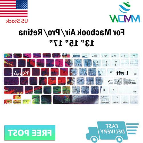 Stylish Design Silicone Cover Skin For Pro Air Retina 15 17