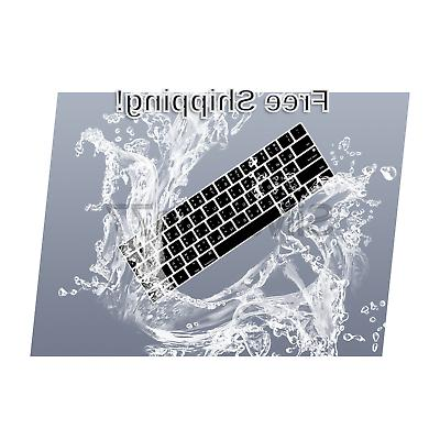 HRH Thai Silicone Keyboard Compatible Newest MacBook Pro with