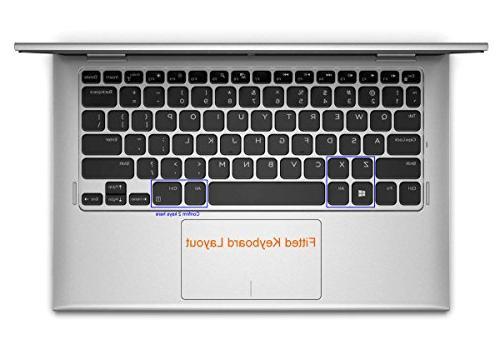 Folox Thin TPU Keyboard Dell Series 11-3147 11-3148 11-3208 11-3152, 11br-1208t 11w-4108t