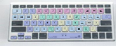 LogicKeyboard Transparent Final Cut Pro X MacBook LogicSkin