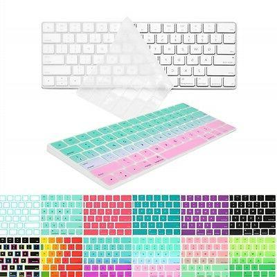 Ultra Slim Silicone Keyboard cover for Magic Keyboard MLA22L