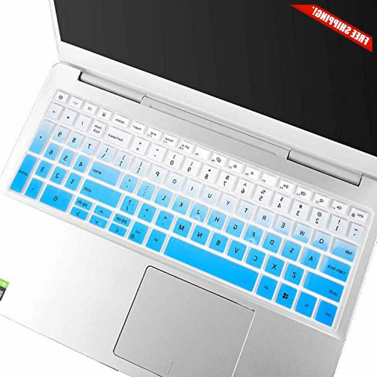 """Leze Keyboard Cover Compatible with 15.6"""" Dell 7000 759"""