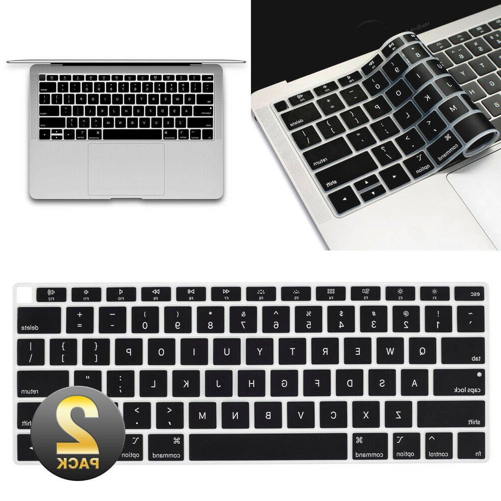 Waterproof Keyboard Cover 2019 2018 Newest MacBook Air Pro 1