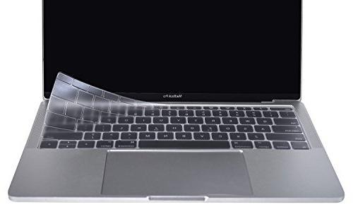 Premium Ultra Thin Keyboard Cover Apple MacBook Pro Inch A1708 Bar, TPU