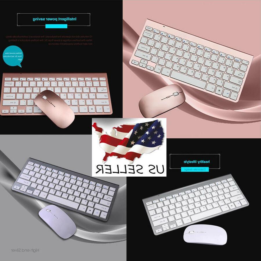 Ultra-thin Mini Metal-cover Keyboard Suit Wireless Keyboard