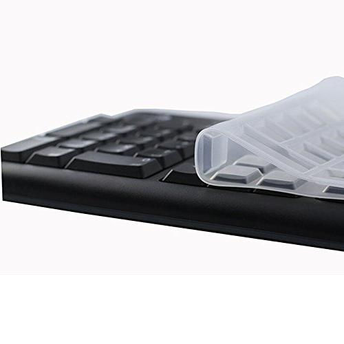 CaseBuy Desktop Keyboard Cover Protector for Logitech Keyboard K120 US Version
