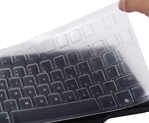 ultra thin silicone desktop keyboard