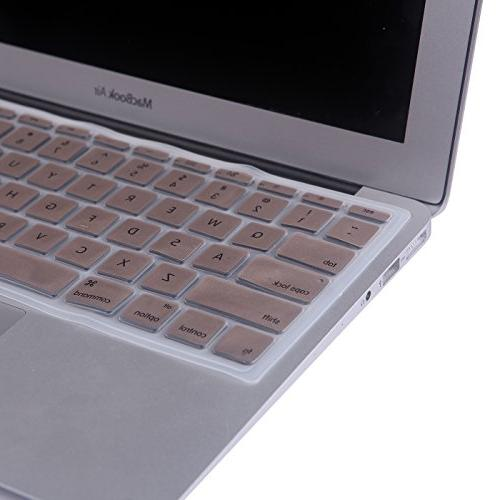 HDE Protective Silicone Keyboard Cover Air ,