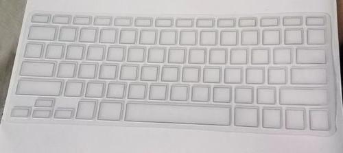 """ULTRA Cover Soft TPU Skin for MacBook 15"""" DHZ"""