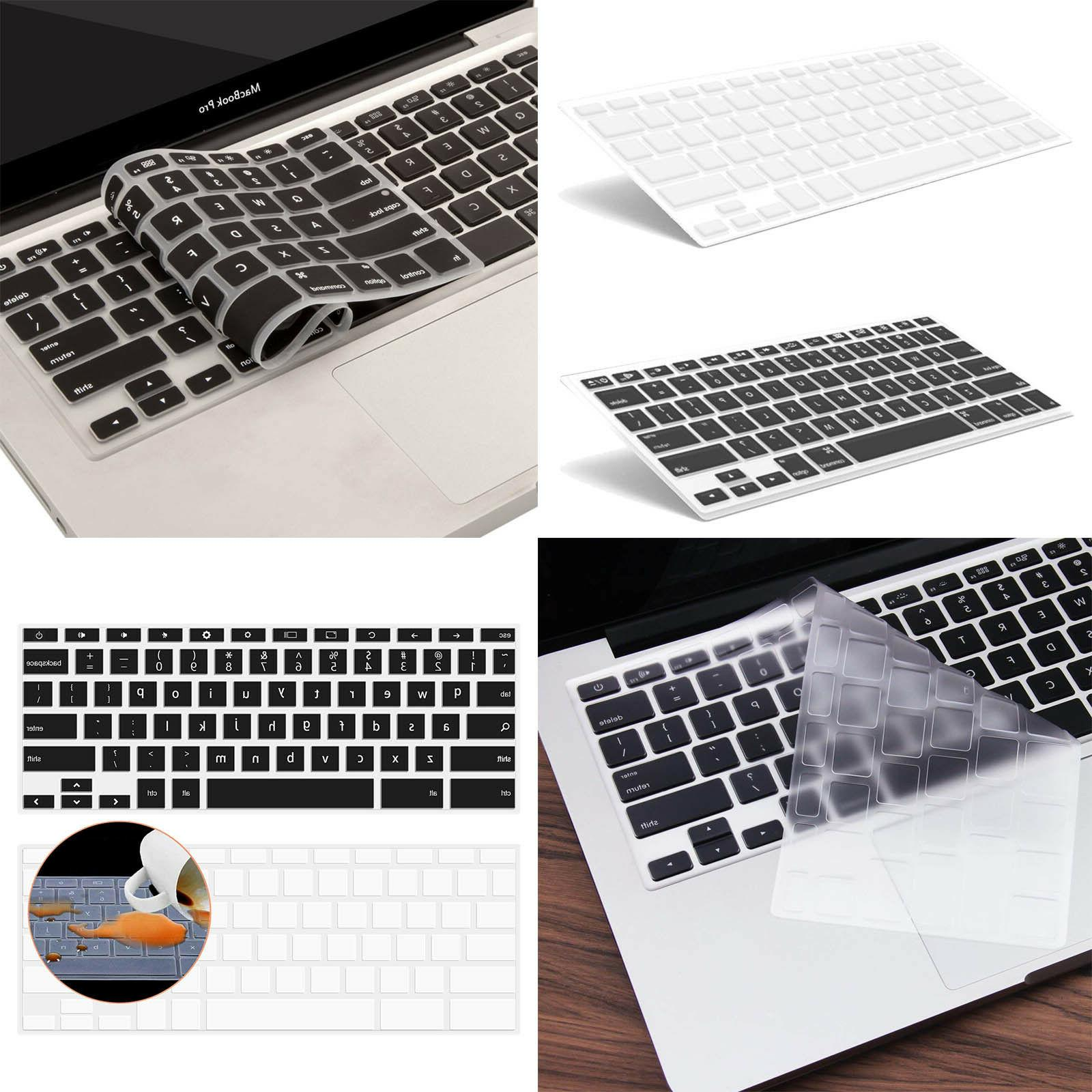 Ultra Thin Transparent Keyboard Cover Soft TPU Skin for NEW