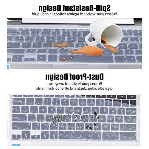 "CaseBuy Ultrathin Keyboard Protector 11.6"" Dell 11-3168 11-3185 i3168 i3169 i3179 US"