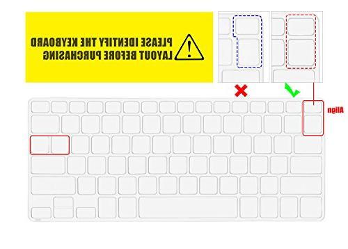 "CaseBuy Silicone Keyboard Protector 11.6"" Dell Inspiron 11-3162 11-3168 11-3169 11-3180 11-3185 i3162 i3169 i3179 i3185 US"