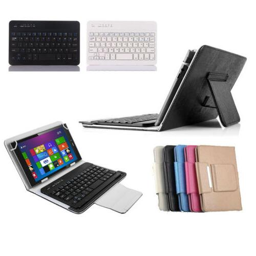 """Universal Case Cover Keyboard Cover Stand for 7"""",8"""",10"""" Tablet"""
