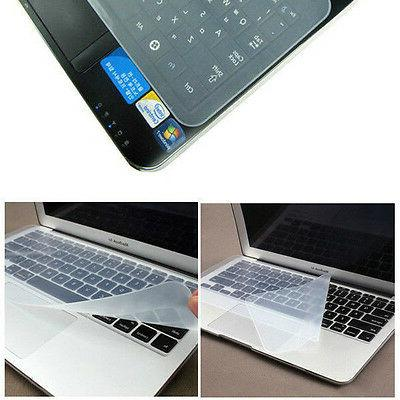 universal clear silicone desktop laptop keyboard cover