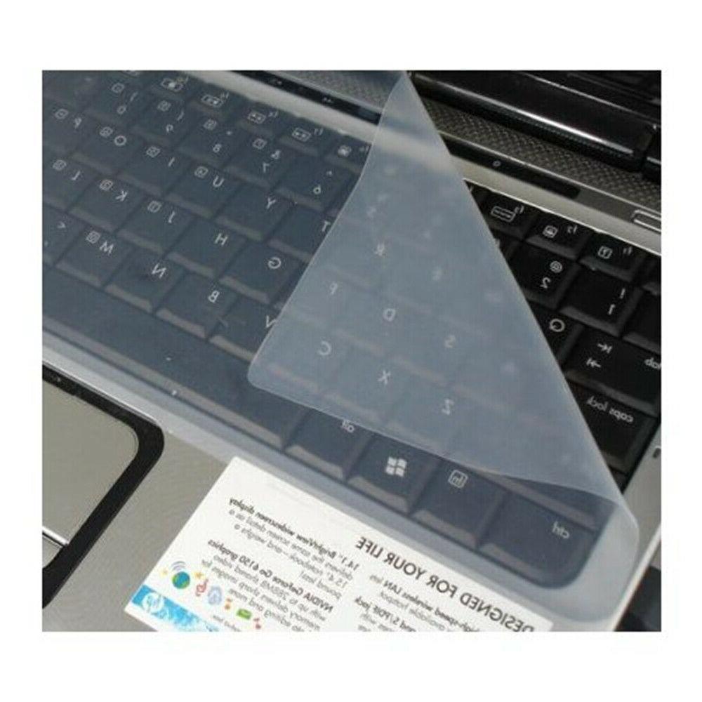 universal silicone clear pc desktop laptop keyboard