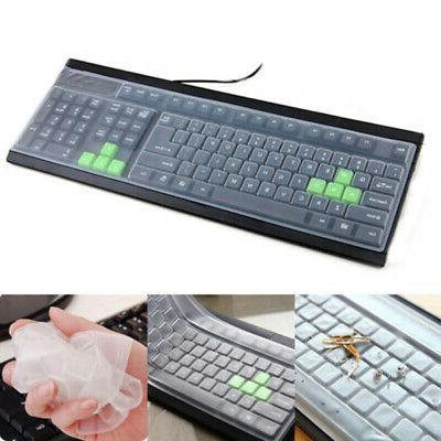 Universal Silicone Desktop Keyboard Skin Protector Film