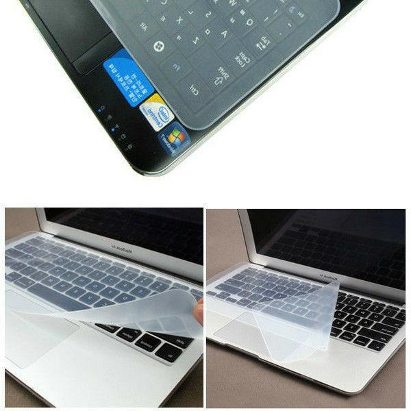 """Universal Silicone Keyboard Cover Protector 13"""" 14"""""""