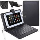 "US For RCA Voyager 7"" 8"" 10.1"" Tablet Leather Case Micro USB"