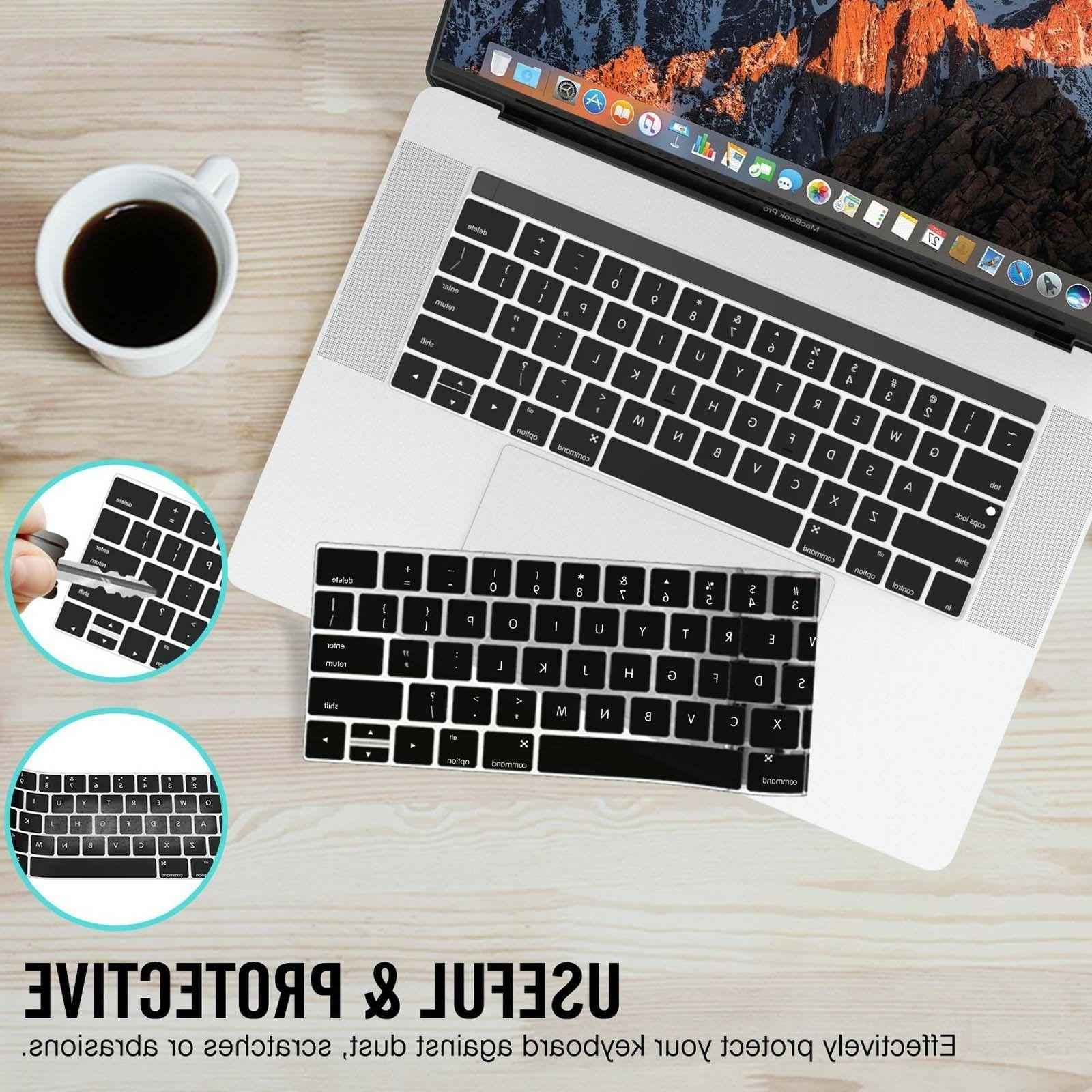 Waterproof Cover Skin 2018 Macbook Pro 13 15 Touch