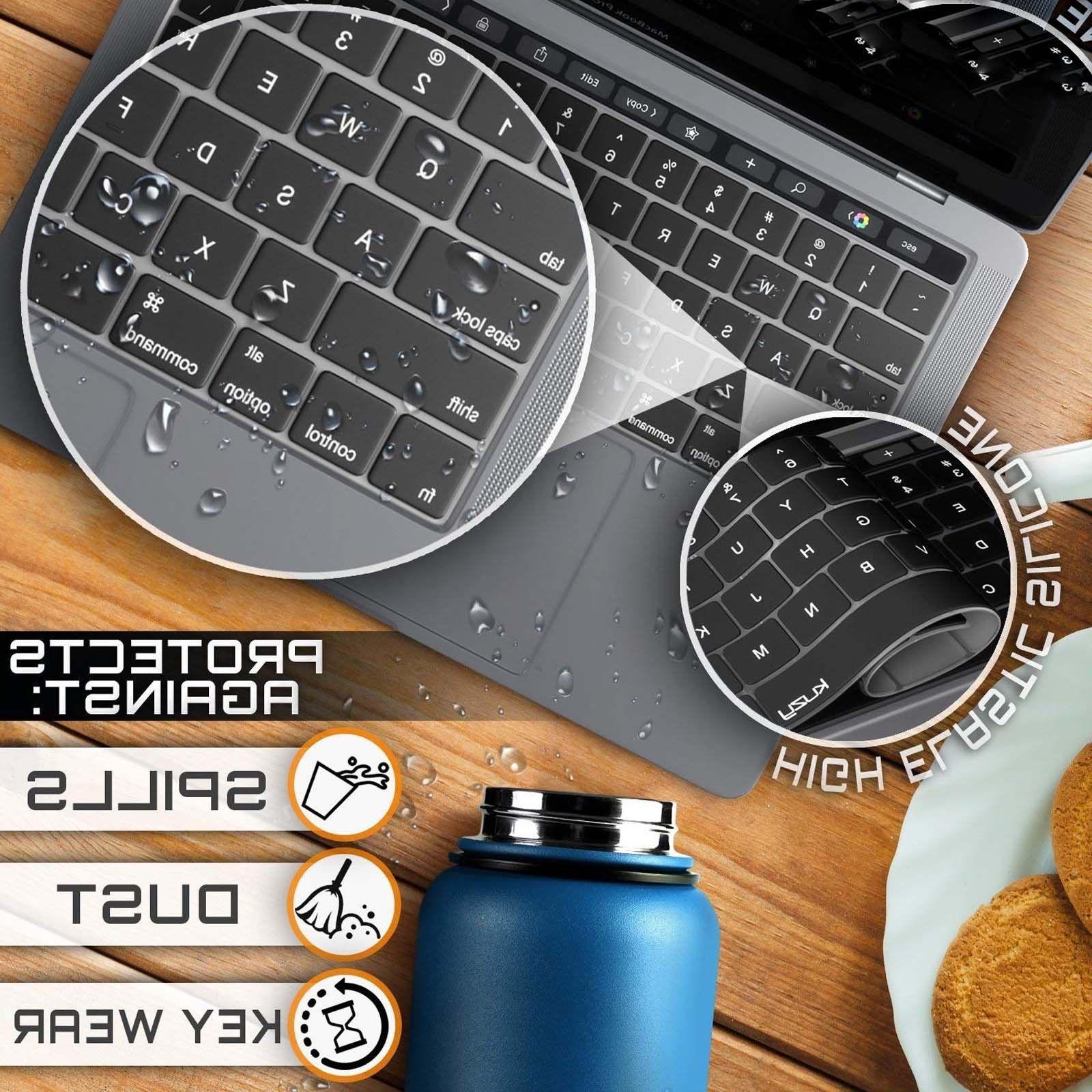 Waterproof Keyboard Cover Skin for Apple Pro /Retina 15