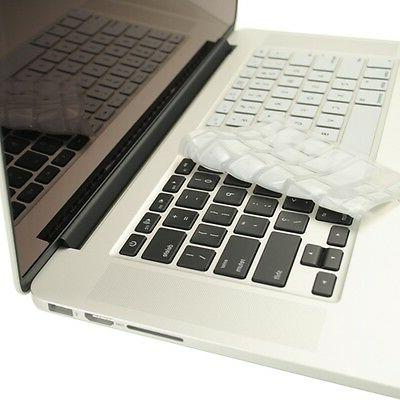 """WHITE Silicone Keyboard Cover for NEW Macbook Pro 13"""" A1425"""