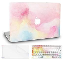 """KEC Laptop Case for MacBook Pro 13""""  w/Keyboard Cover Plasti"""