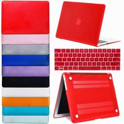 Laptop Matte Shell Hard w/ Keyboard Cover Case for Macbook A