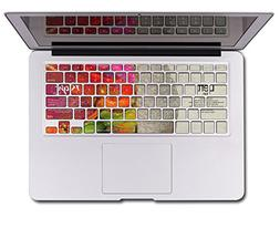 Herngee Left and Right Brain MacBook Keyboard Decal Keyboard